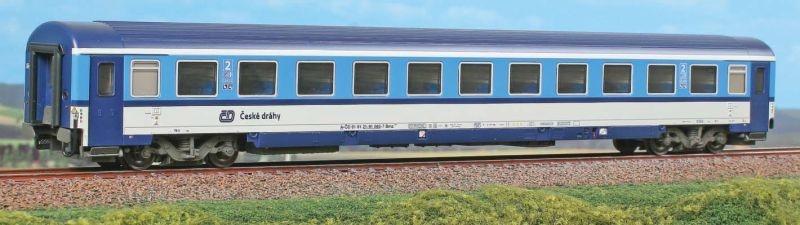 Abteilwagen Bmz 2.Klasse, Najbrt, CD, DC, Spur H0