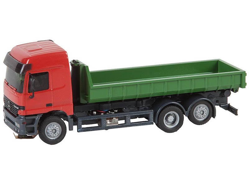 LKW MB Actros LH96 Abrollcontainer Car System (HERPA) H0