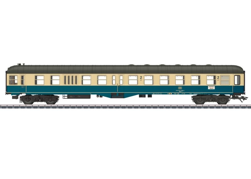 Steuerwagen BDylf 457 der DB, mfx, DCC, LED, Spur H0
