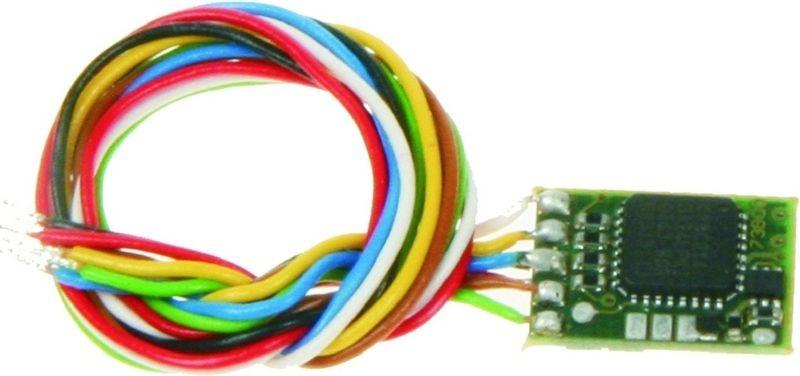 Mini-Funktionsdecoder DCC/MM, für N, TT, H0e & H0m