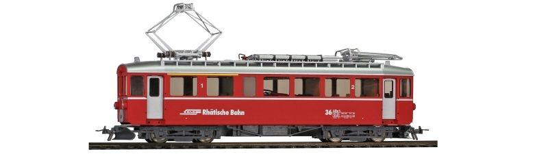 RhB ABe 4/4 36 Berninatriebwagen digital, Spur H0m