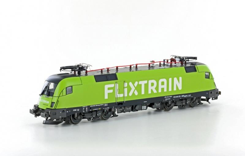 E-Lok BR182.505 Taurus FLIXTRAIN, Ep.VI, DC, Spur H0