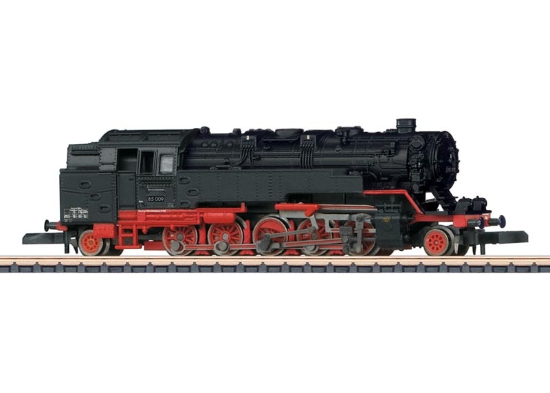 Dampflokomotive BR 85 der DB, Spur Z