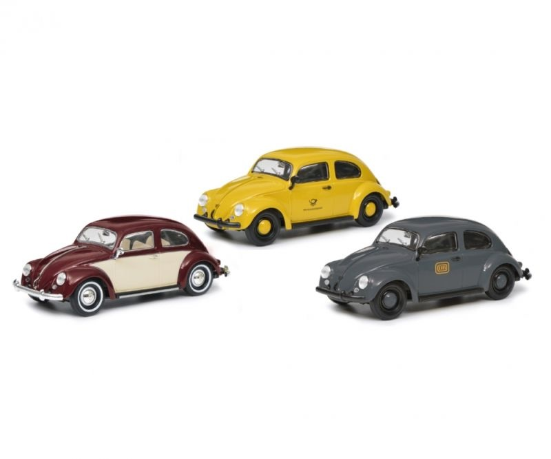 3er Set VW Käfer, 1:32, Spur 1