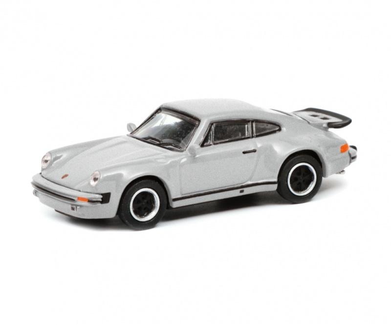 Porsche 911 Turbo (930), silber 1:87