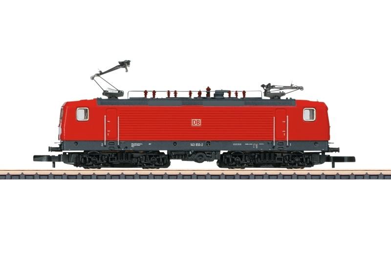 Elektrolokomotive BR 143 der DB AG, Spur Z