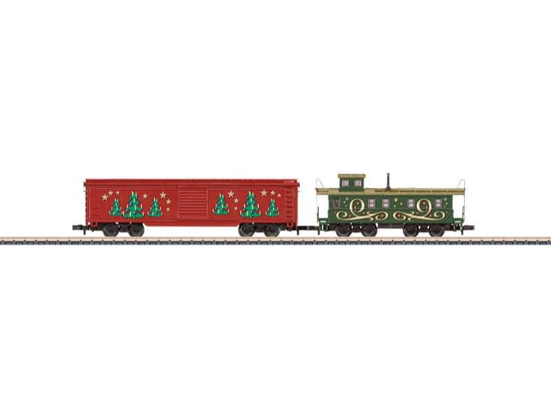 Ergänzungswagen-Set Weihnachten Box-Car und Caboose Spur Z