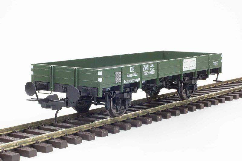 Kranbegleitwagen X05, DB, Ep. 3, Betr. Nr. 6652, Spur 0, DC