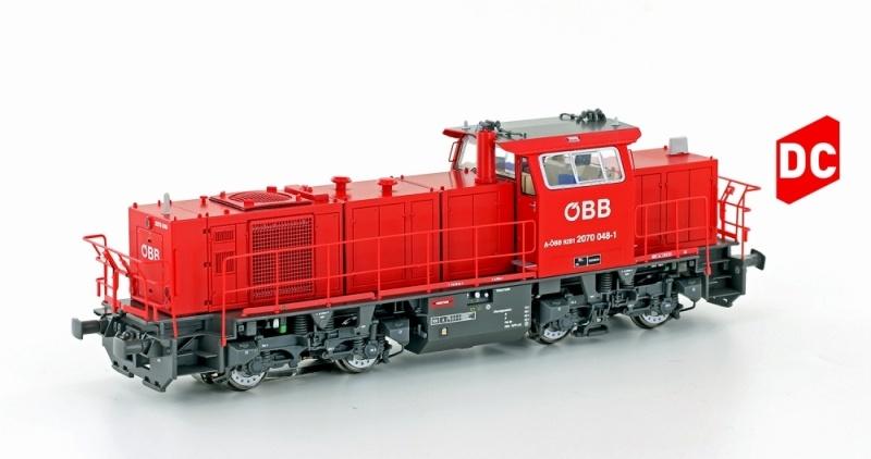 Diesellok Rh 2070.074 ÖBB, Ep.VI, Wortmarke, H0, DC