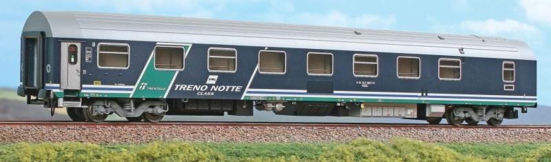 Schlafwagen Typ T3 der Trenitalia, DC, Spur H0