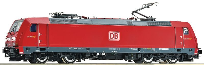 Elektrolokomotive 146 219-1 der DB AG, Sound, DC, Spur H0