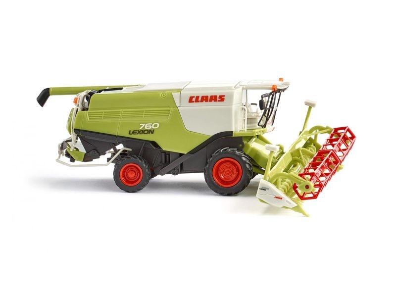 Claas Lexion 760 Mähdrescher mit V 1050 Getreidevorsatz 1:87