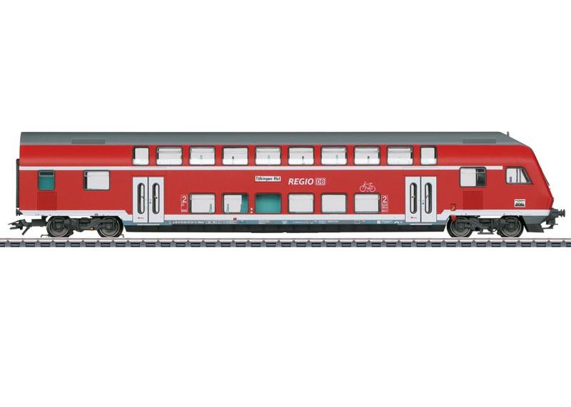 Doppelstock-Steuerwagen 2. Klasse der DB, AC, Spur H0
