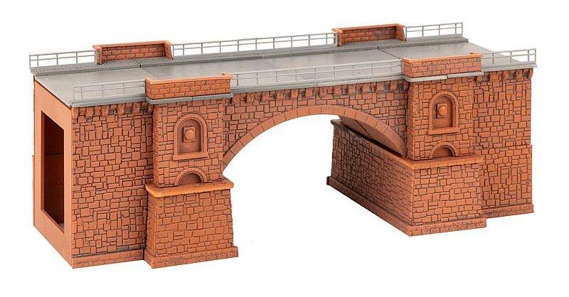 Eisenbahn-/Straßenbrücke Bausatz N