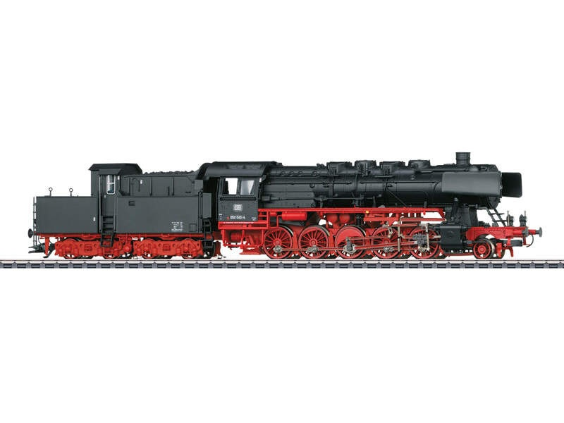 Güterzug-Dampflokomotive BR 50 DB Sound mfx+ H0