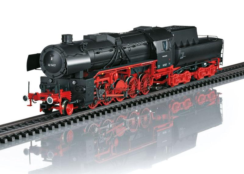 Schwere Güterzug-Dampflokomotive BR 42 DB Sound mfx+ H0