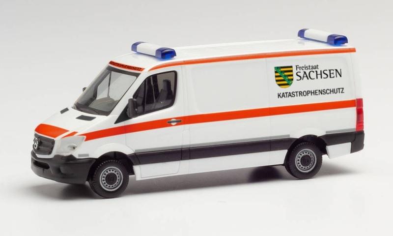 Mercedes-Benz Sprinter13 Flachdach, 1:87 / Spur H0