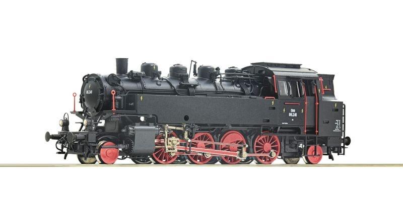Dampflokomotive 86.241 der ÖBB, Sound, DC, Spur H0