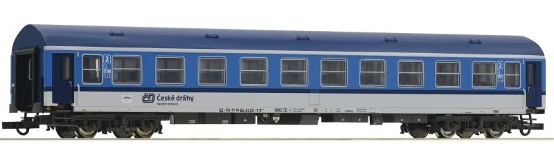 Schnellzugwagen Y/B-70 der CD 2.Kl., DC, Spur H0