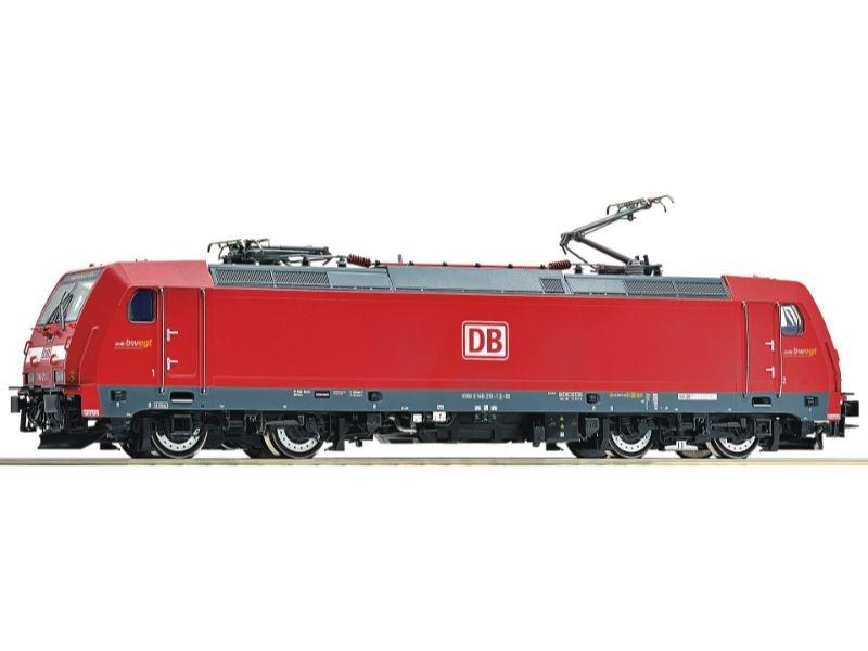 Elektrolokomotive 146 219-1 der DB AG, Sound, AC, Spur H0