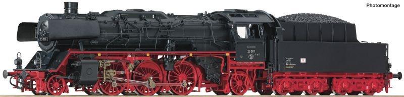 Dampflokomotive 23 001 der DR, Sound, AC, Spur H0