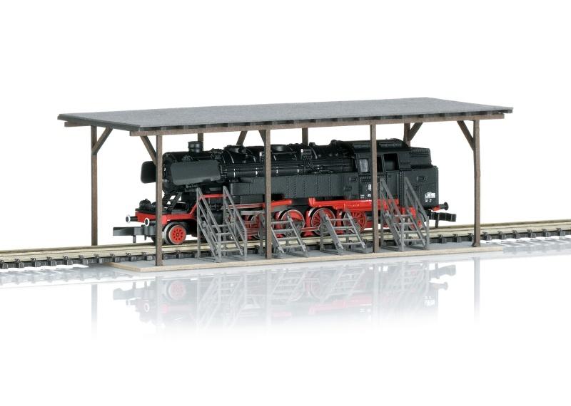 Dampflokomotive Baureihe 85 007 der DB, Spur Z