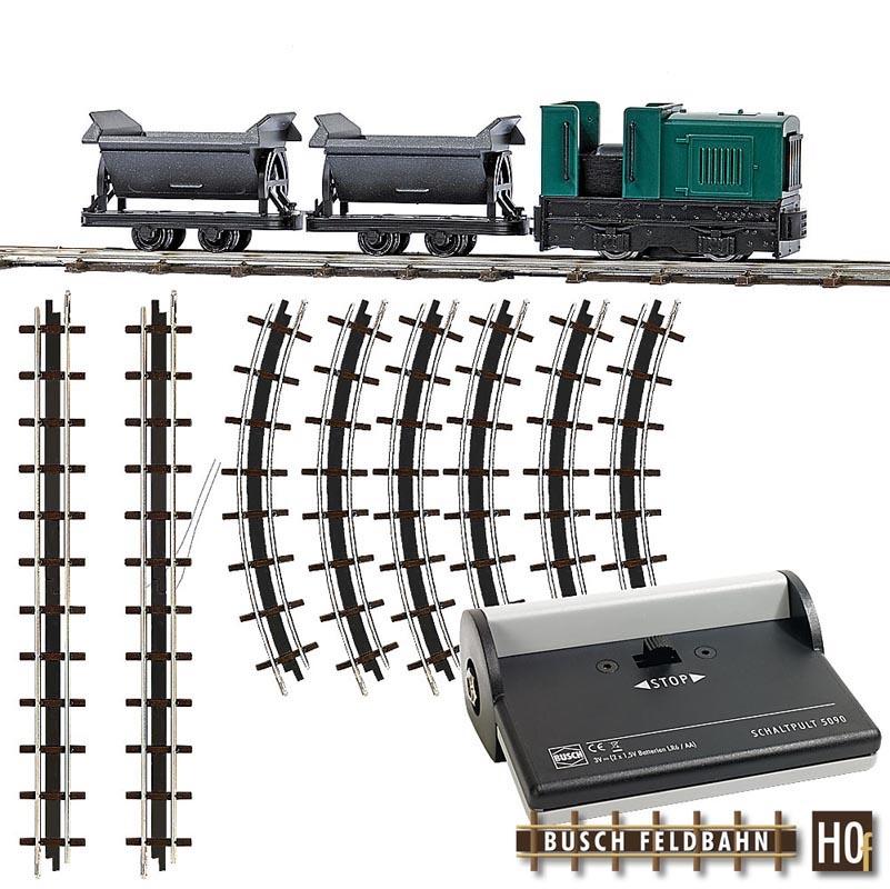Feldbahn Start-Set mit Kipploren, Spur H0f