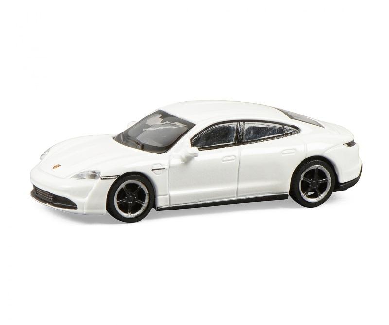 Porsche Taycan, weiß 1:87 / Spur H0