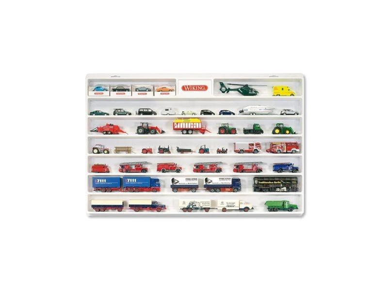 WIKING-Setzkasten für PKW & LKW Modelle im Maßstab 1:87