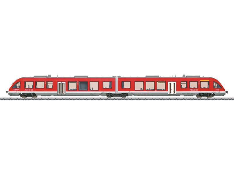 Nahverkehrs-Dieseltriebwagen BR 648.2 (LINT 41) DB H0