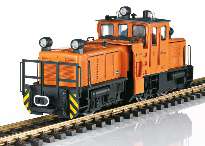 Schienenreinigungslok, Sound, mfx, DCC, Spur G