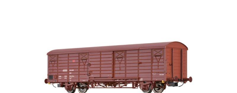 Gedeckter Güterwagen Gbs 258 der DB AG, Epoche IV, Spur H0