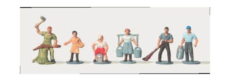 Landarbeiter Figuren 1:160 / Spur N