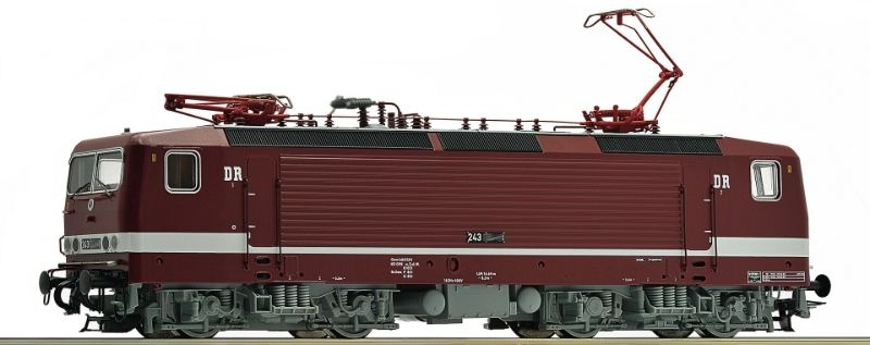 Sound-E-Lok BR 243 der DR, Epoche IV, Spur H0