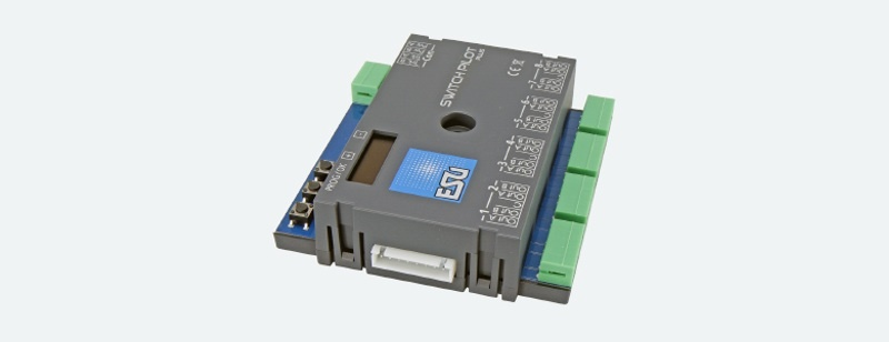 SwitchPilot 3 Plus, 8-fach Magnetartikeldecoder, DCC/MM,