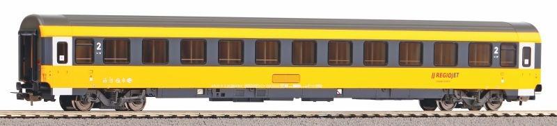 Personenwagen 2. Klasse Regiojet, Ep. VI, DC, Spur H0
