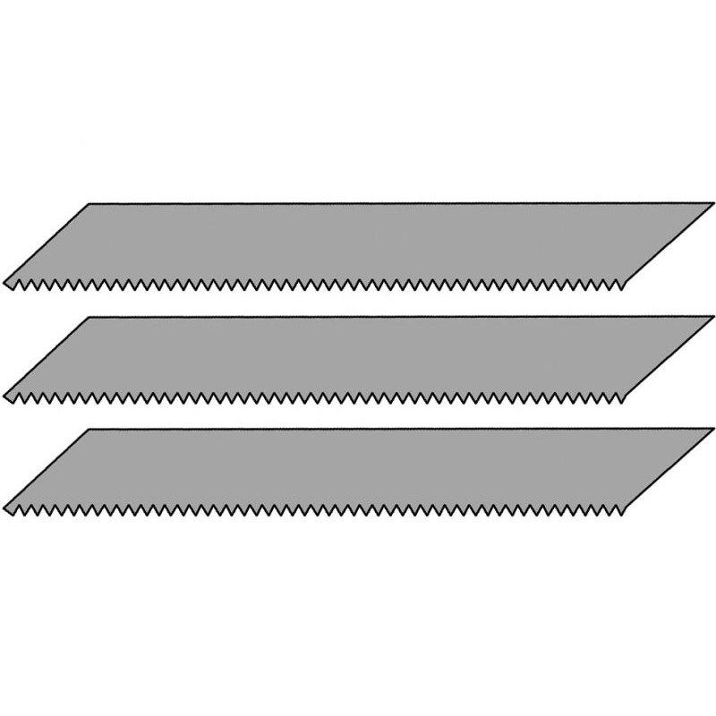 3 Sägeblätter für Designermesser