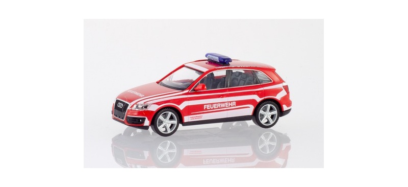 Audi Q5 Kommandowagen Feuerwehr Lindau 1:87 / H0