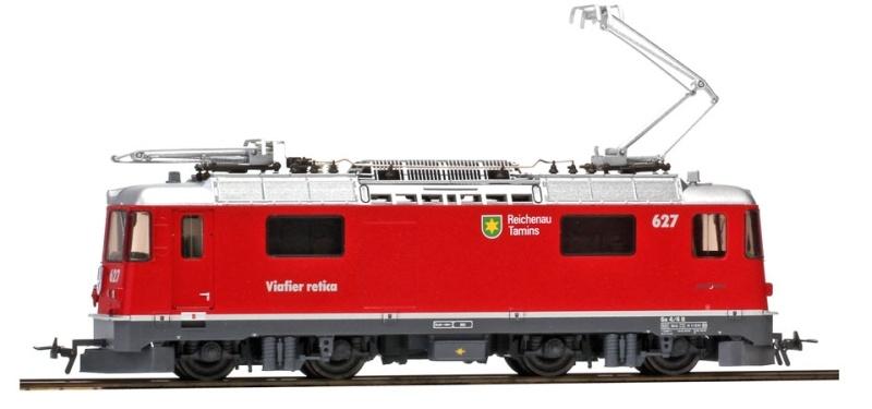 Ge 4/4 II 627 Reichenau-Tamins Universallok, RhB, DC, H0m