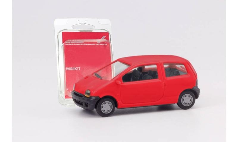 Minikit Renault Twingo, erdbeerrot, 1:87 / H0