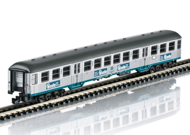 Nahverkehrs-Personenwagen Bnb 719 der DB, Spur Z