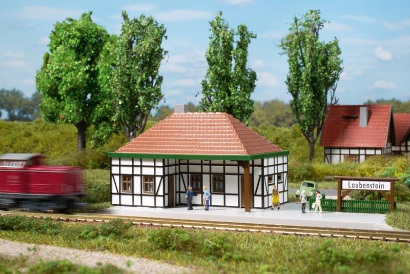 Haltepunkt Laubenstein, Bausatz, Spur N