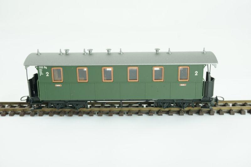 4-achsiger Personenwagen KB4i 033 der DB, Spur H0e