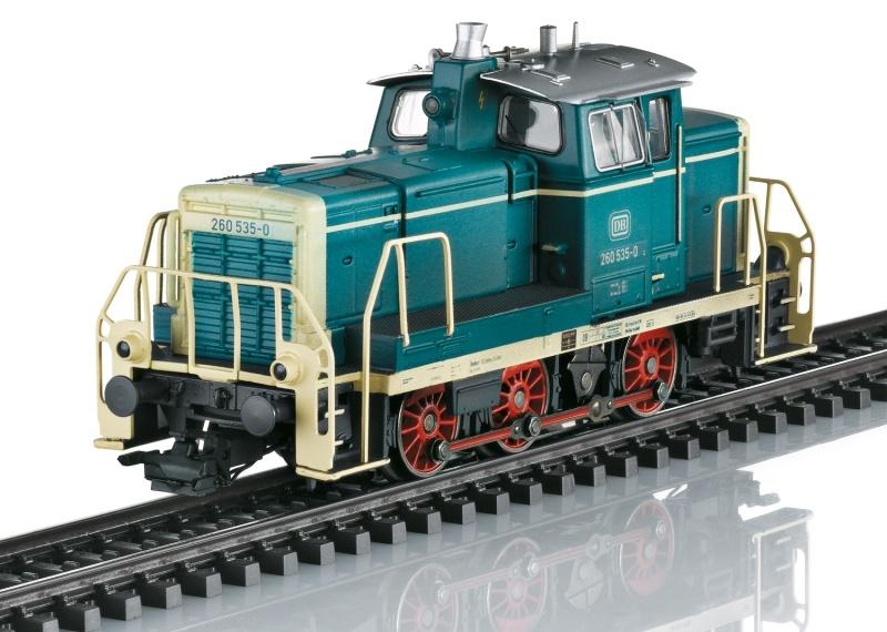 Diesellokomotive Baureihe 260 DB, AC, mfx+, Spur H0