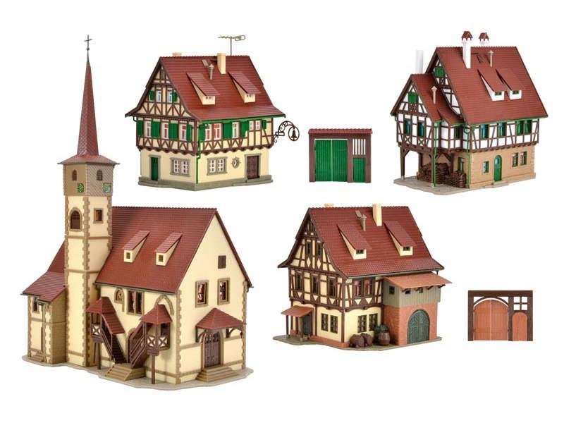 Fachwerkdorf , Bausatz, Spur N