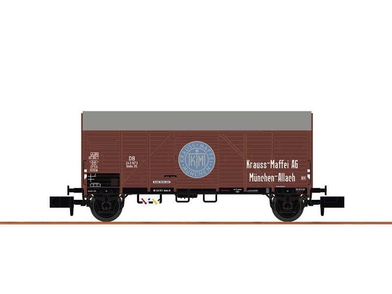 Güterwagen Gmhs 35 DB, III, Krauss Maffei, Spur N