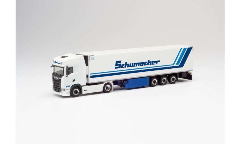 Scania CS 20 HD Kühlkoffer-Sattelzug Schumacher, 1:87, H0