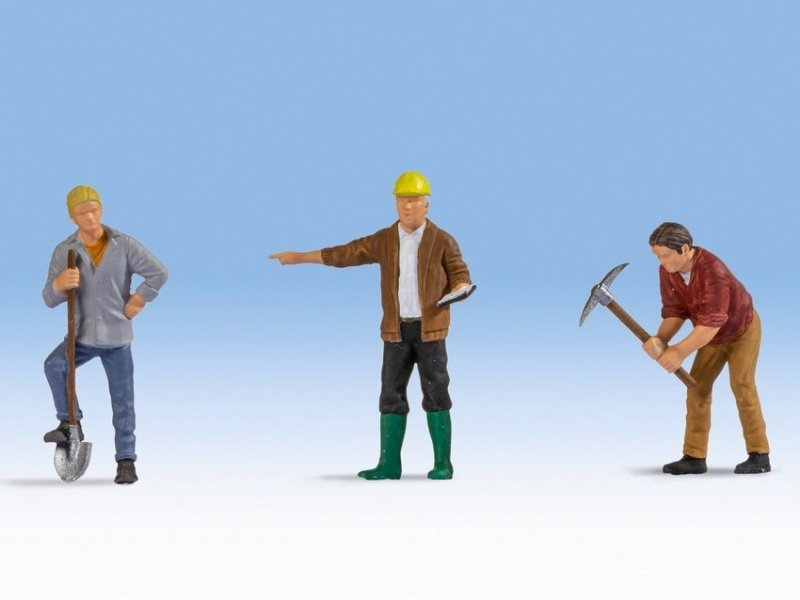 Bauarbeiter Figuren, Spur 0