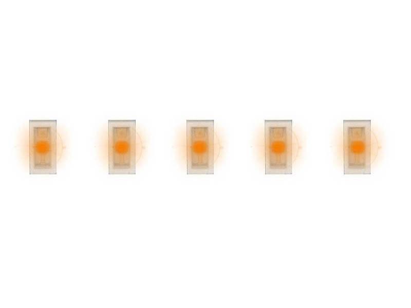 5 SMD-LEDs, orange H0, TT, N, Z