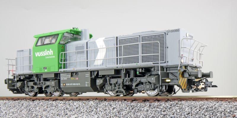Diesellok, G1000, 1271 002 Vossloh, Sound, DC+AC, Spur H0